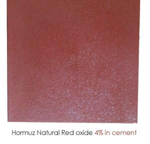 hormuz red oxide